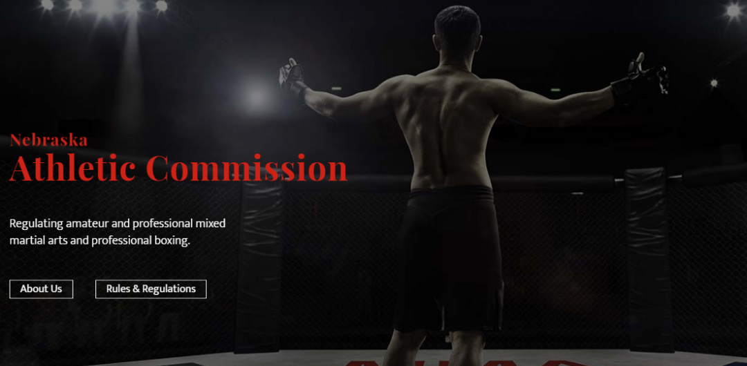Nebraska Athletic Commission Announces New Website with High Impact