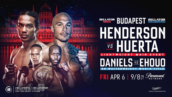 Roger Huerta returns, faces Benson Henderson at Bellator 196 in Budapest