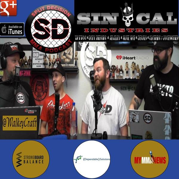 Split Decision MMA Podcast - MMA porn event announced