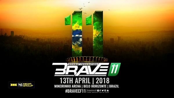 Brave Combat Federation announces event in Brazil