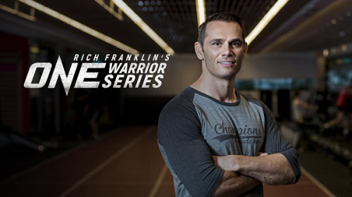 Rich Franklin's ONE Warrior Series to host inaugural event in Singapore, March 31