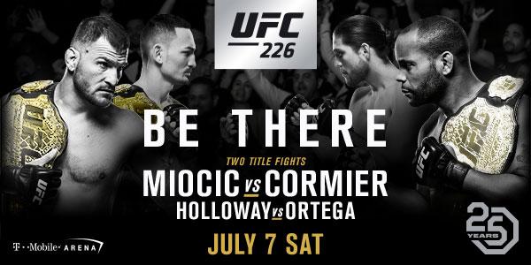 Two Title Fights Headline UFC International Fight Week