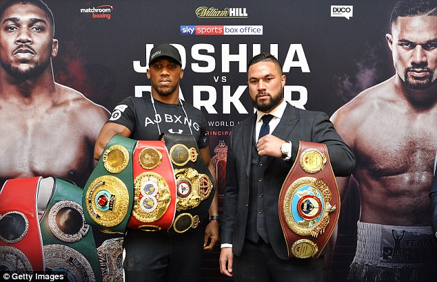 Joshua Parker betting – Who is favorite, what's at stake?