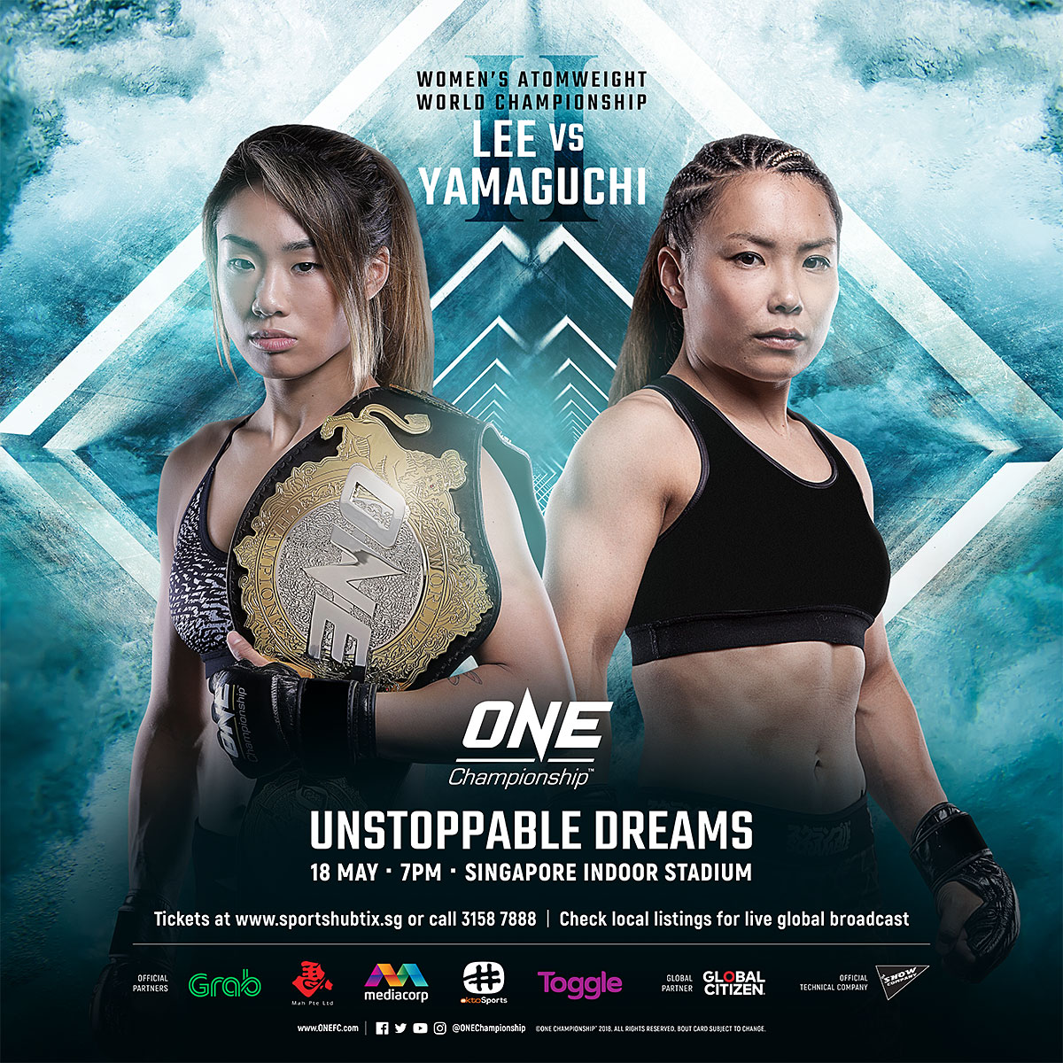 ONE WOMEN'S ATOMWEIGHT WORLD CHAMPION ANGELA LEE TO DEFEND TITLE AGAINST MEI YAMAGUCHI IN REMATCH