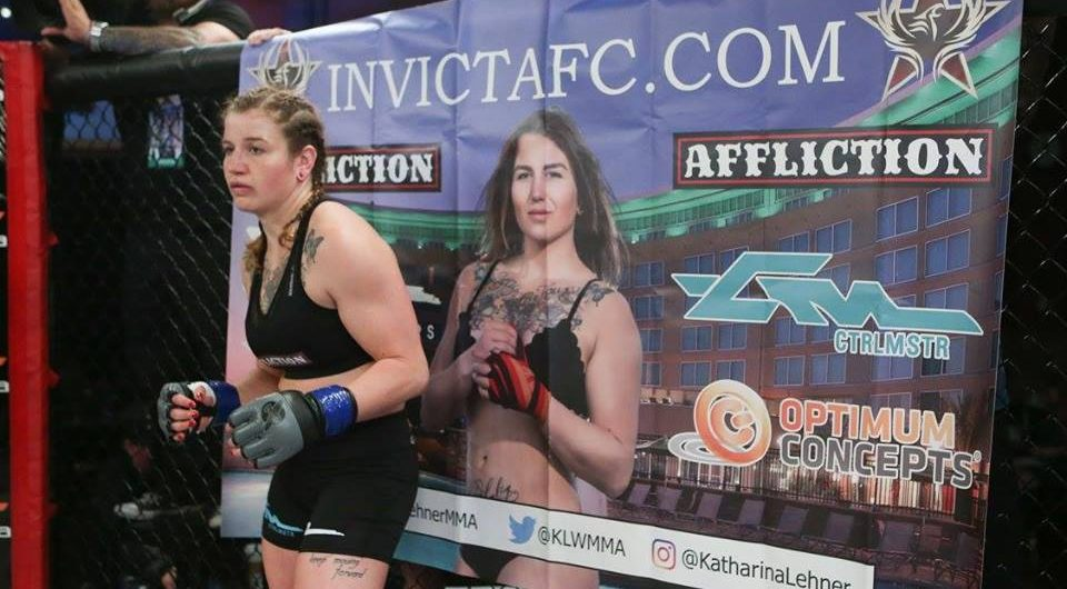 Katharina Lehner Looks for Invicta Gold on May 4