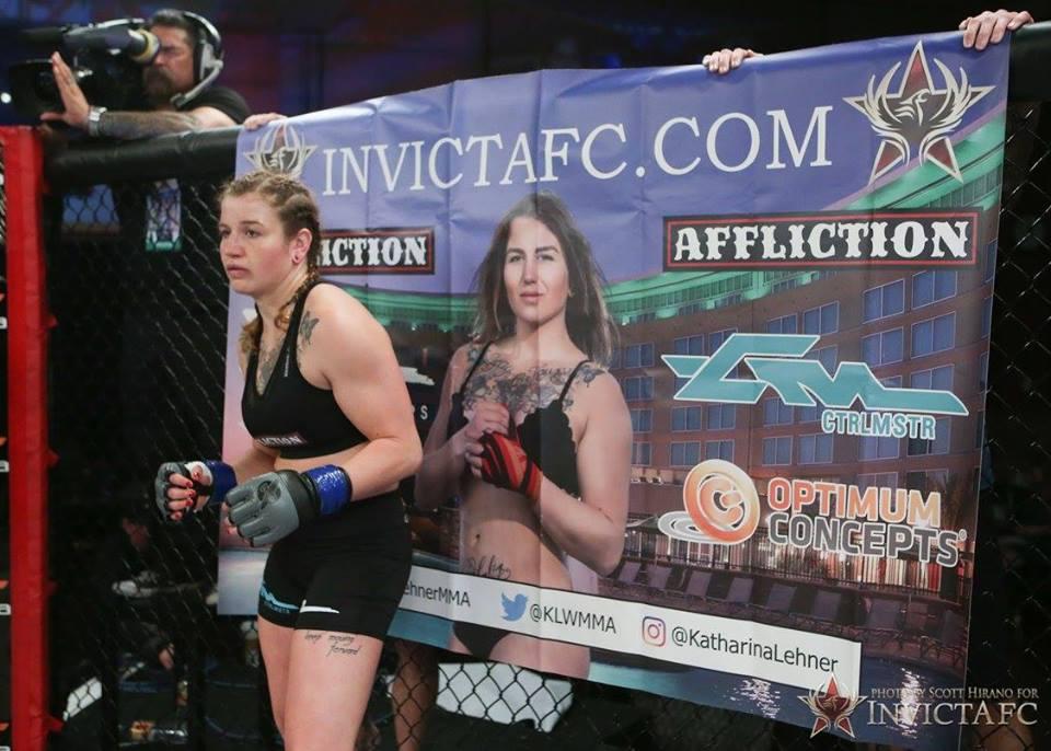 Katharina Lehner Looks for Invicta Gold on May 4