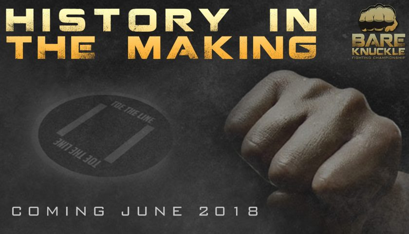 Bare Knuckle Fighting Championship announces first sanctioned bare knuckle boxing event in U.S. since 1889