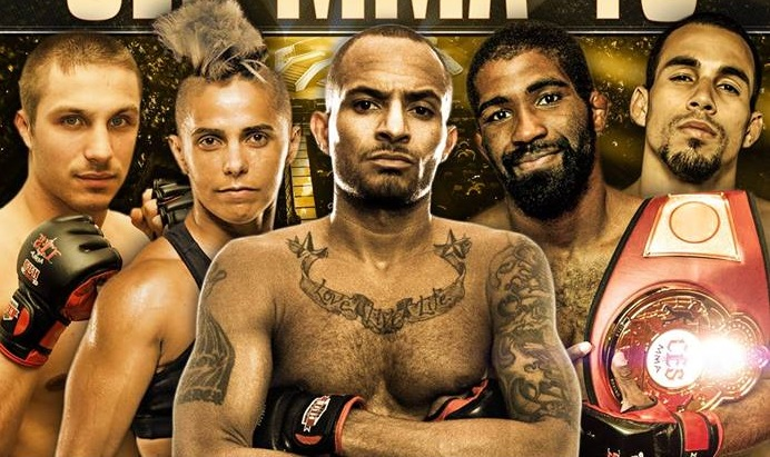 CES MMA 49 weigh-in results from Twin River Casino