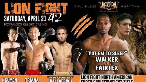 "Lion Fight 42's Steve ""Put Em To Sleep"" Walker ""The NEXT ANDERSON SILVA!"""