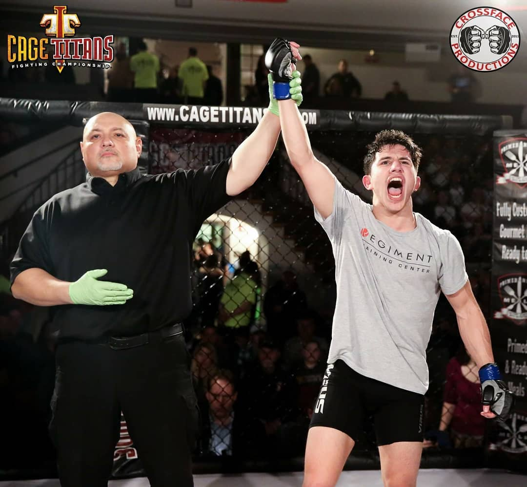 Mitch Raposo Dominant Once Again, Captures Cage Titans Flyweight Championship