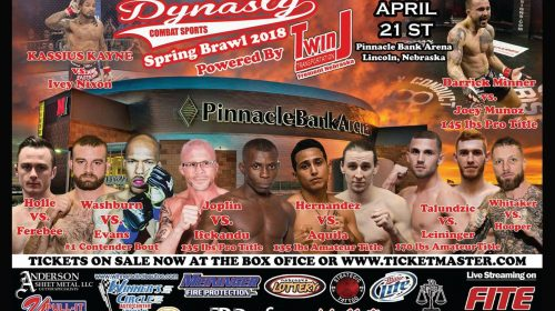 Dynasty Combat Sports 41 – Spring Brawl 2018 – Official PPV Live Stream