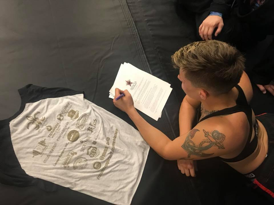 """Macy Chiasson - """"Pumped"""" for Invicta FC debut on May 4"""