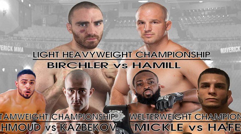 Maverick MMA 6 results – Matt Hamill vs Chris Birchler