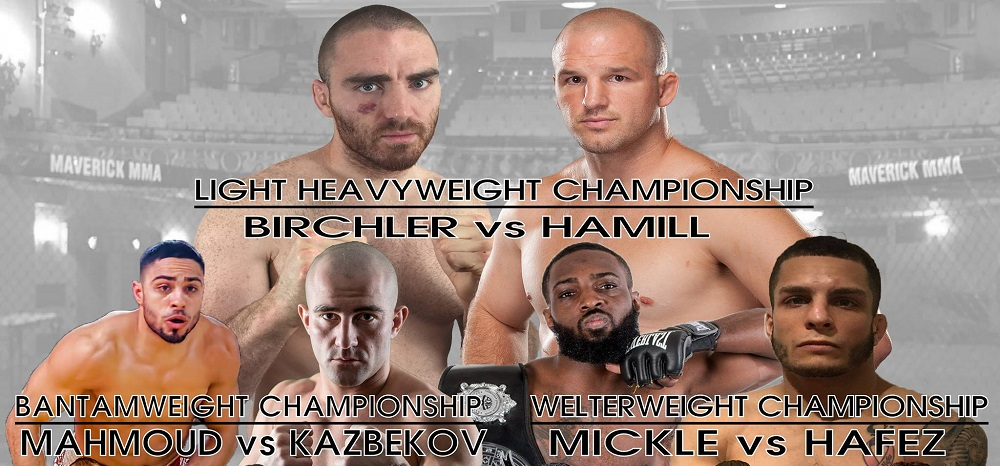 Maverick MMA 6 results – Matt Hamill vs Chris Birchler
