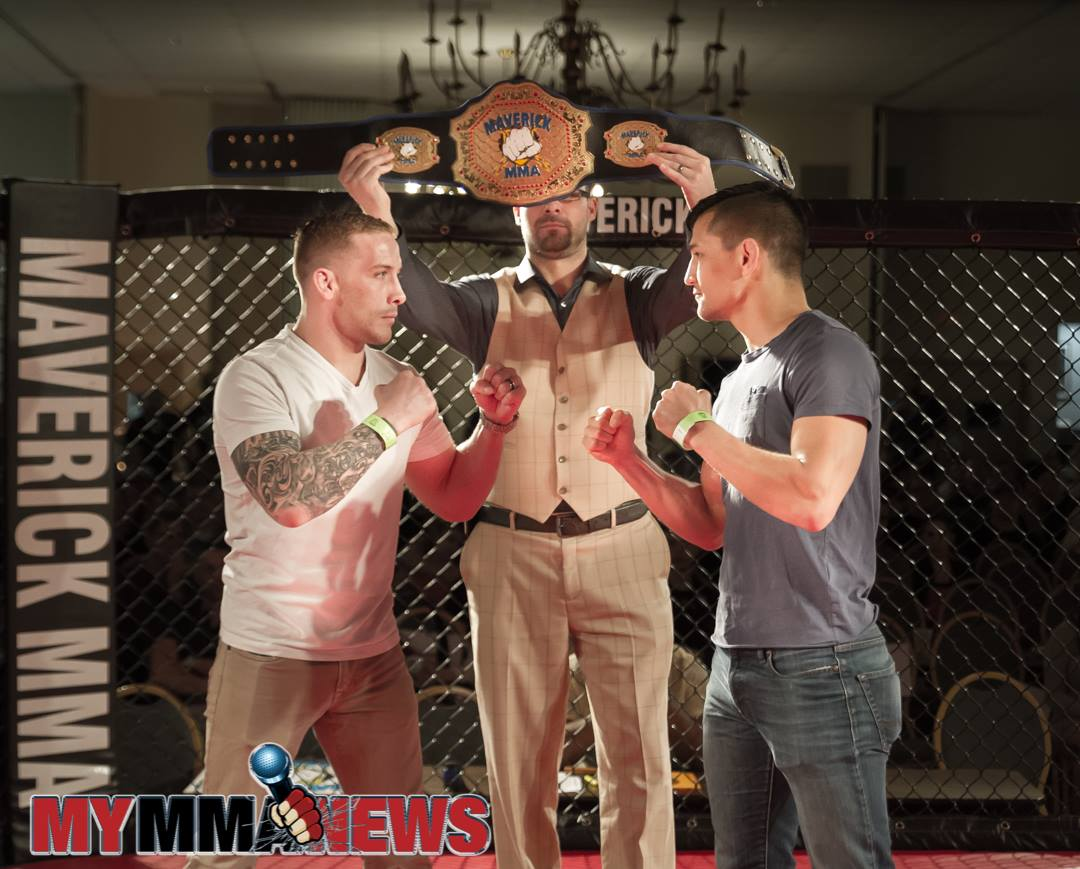 Ryan Kim Cafaro Maverick MMA 7, Scott Heckman vs Ryan Cafaro