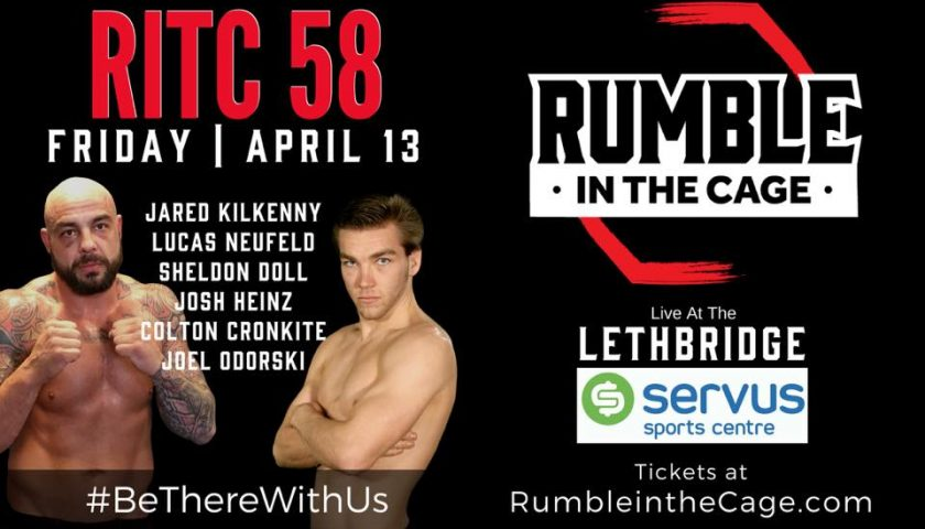 Rumble in the Cage 58 – Official PPV Live Stream