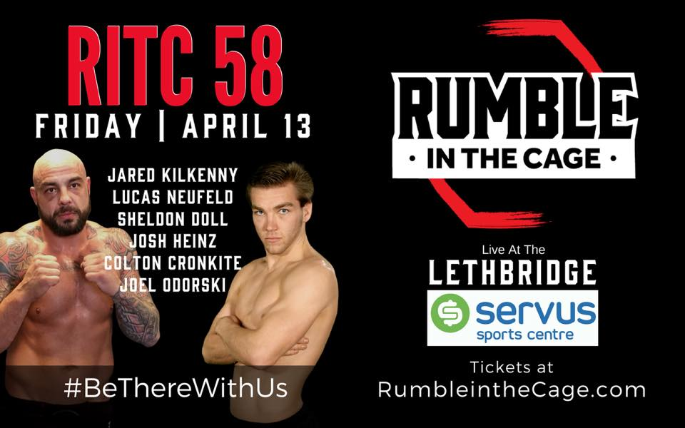 Rumble in the Cage 58 - Official PPV Live Stream