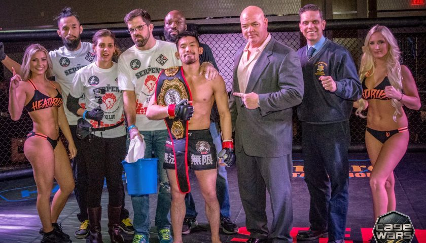 Cage Wars 36 Results – Xi Lau Captures Bantamweight Title