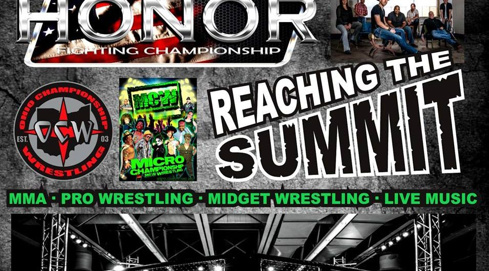 Honor Fighting Championship 4 – Reaching The Summit – LIVE STREAM