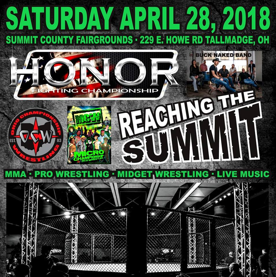 Honor Fighting Championship 4 - Reaching The Summit