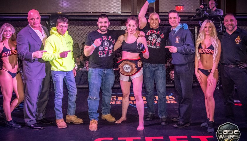 Cage Wars 36 Results: Alexandra Ballou Wins via Submission
