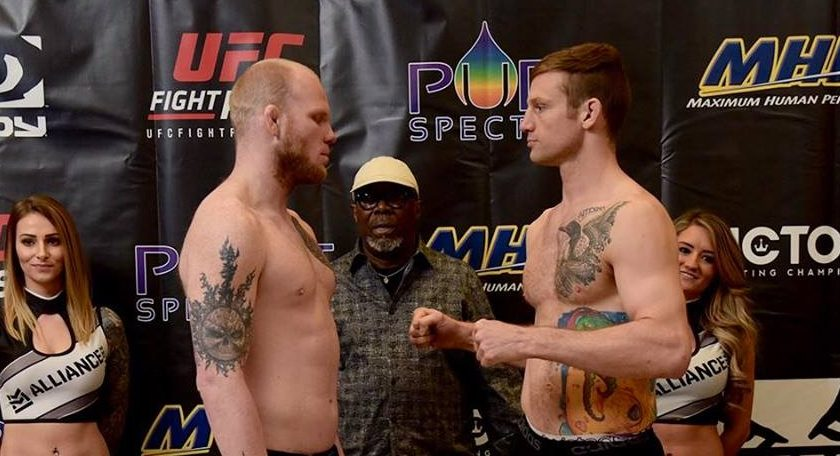 Weigh-In Results for Victory Fighting Championship VFC 60