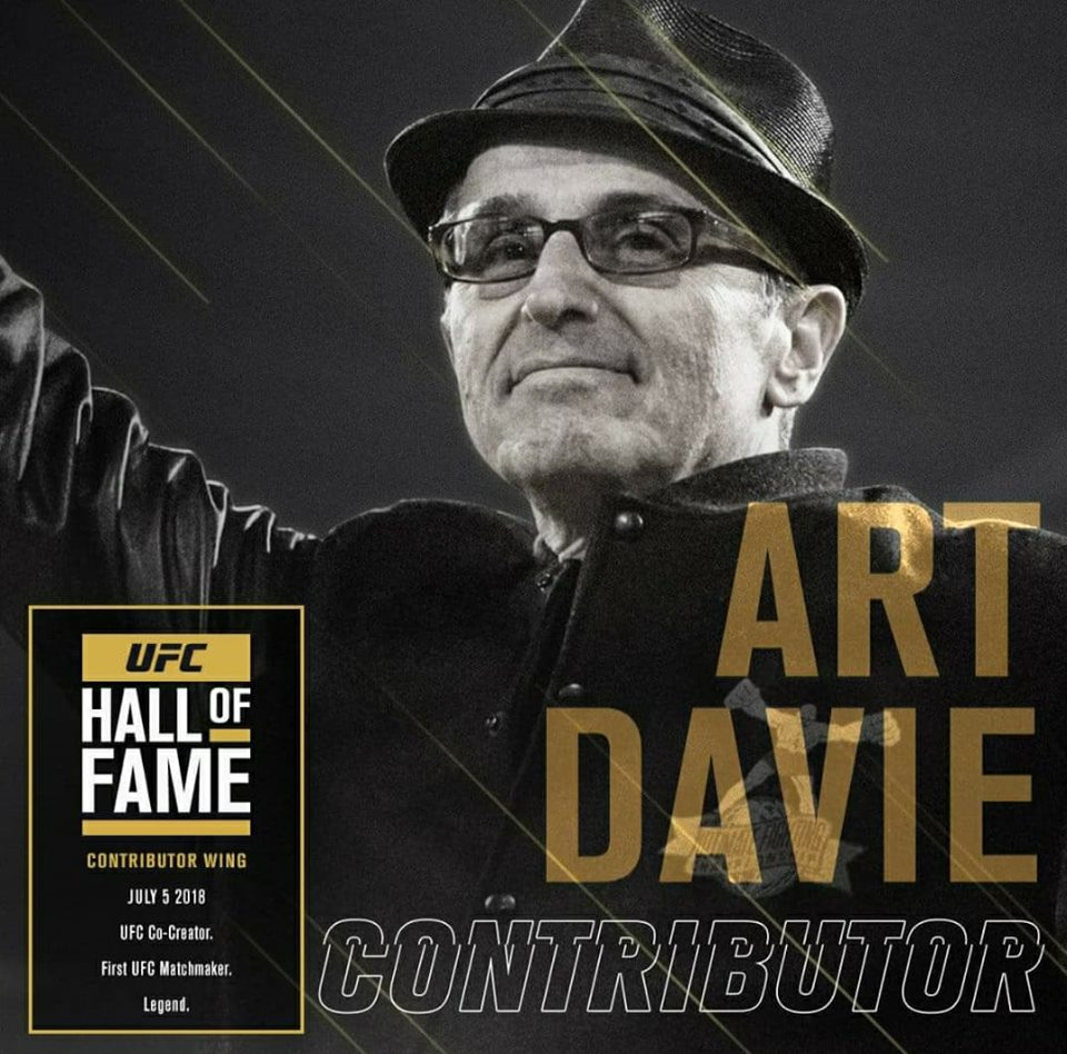 Art Davie named to 2018 class of UFC Hall of Fame