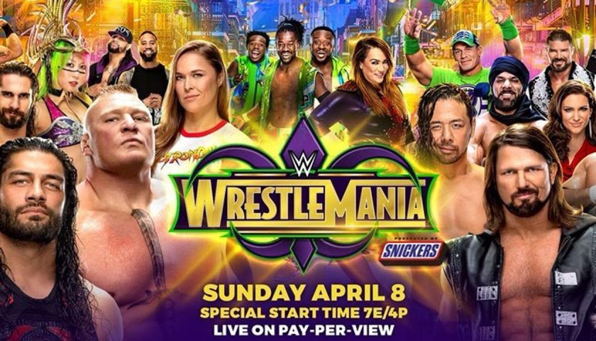 WrestleMania 34 results – Two former UFC champions on the card