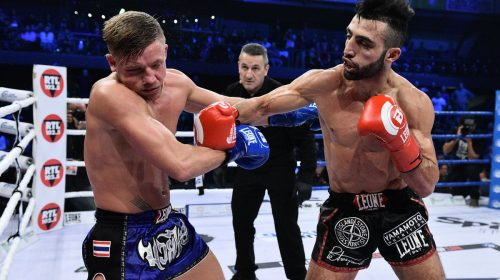 Giorgio Petrosyan, the Michael Jordan of kickboxing, joins Evolve Fight Team