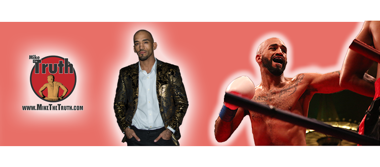 """Mike """"The Truth"""" Jackson looks to bring his brand to the forefront in his fight against CM Punk"""