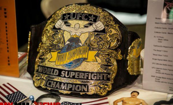 UFC belt, World Champions