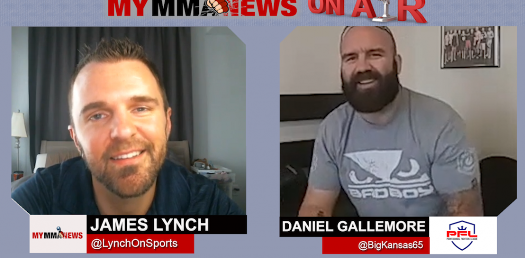 Daniel Gallemore Talks Francimar Barroso Matchup, PFL Heavyweight Tournament & Fake Outdoor Shows