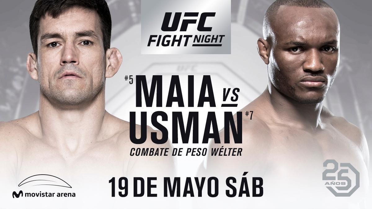 UFC Chile, Demian Maia vs Kamaru Usman