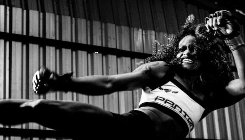 """From humble beginnings to bright lights: story of Brave 11's """"Pantera"""" Elaine Leal"""