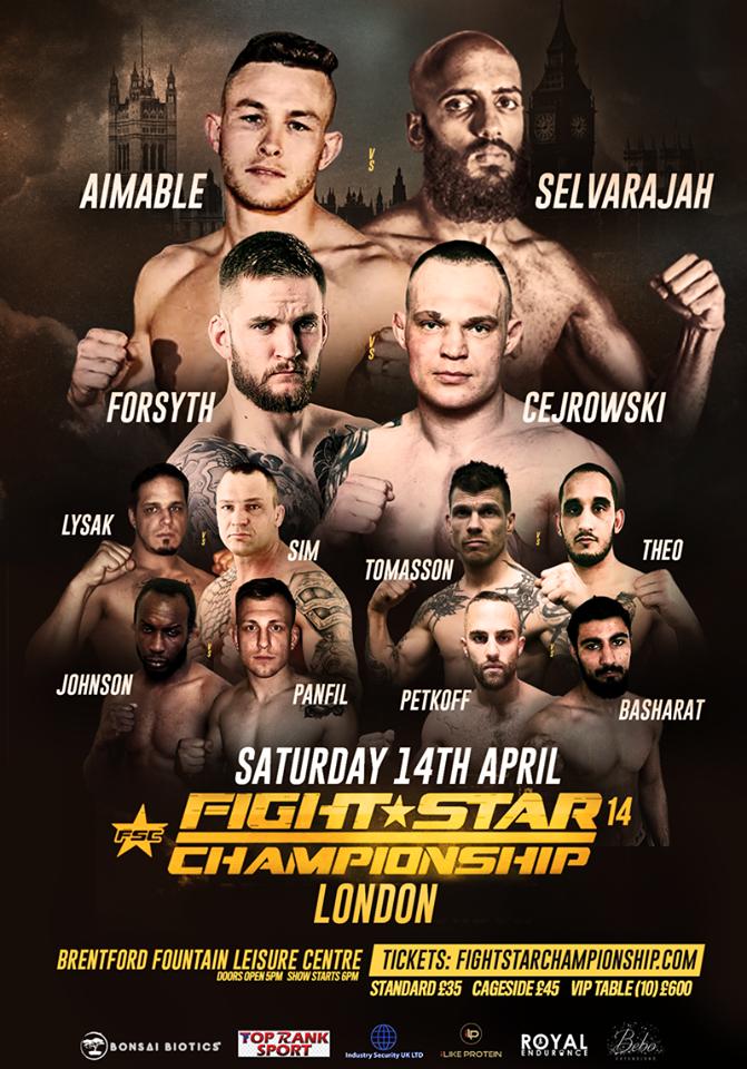 Fight Star Championship, Fight Star Championship 14