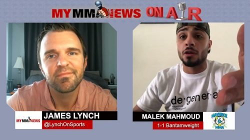 "Malek Mahmoud responds to Vladimir Kasbekov, wants rematch in ""any weight class"""