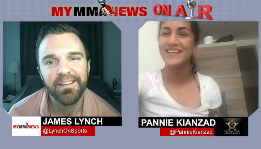 "Invicta FC 29's Pannie Kianzad talks Bianca Daimoni Matchup, Working as a Caregiver & Her Dog ""Biggie"""