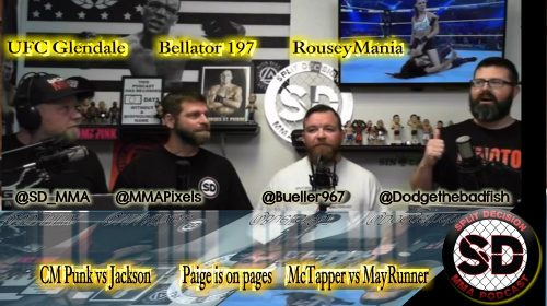 Split Decision MMA Podcast – CM Punk vs Mike Jackson, BKB is back