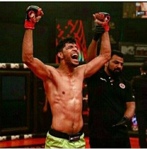 Sumeet Khade: Carrying the torch for Indian MMA