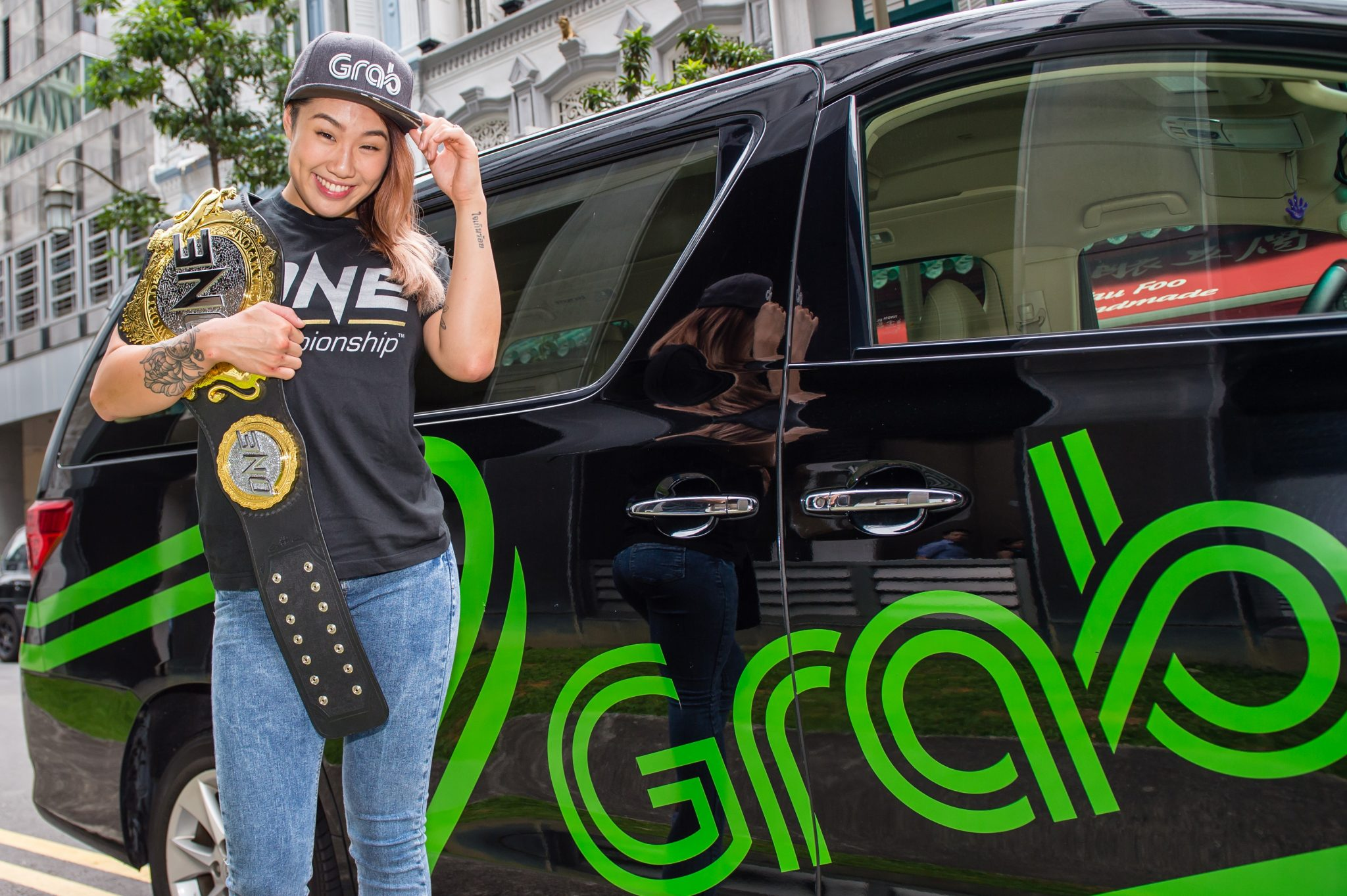 ONE Championship and Grab offer exclusives training with Angela Lee