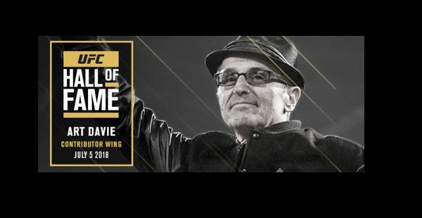 Art Davie, UFC Hall of Fame