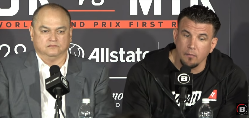 Bellator 198 Press Conference review - Frank Mir interview