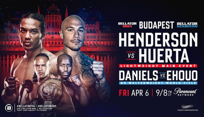 Updated Cards for this Friday's Bellator MMA and Kickboxing Events