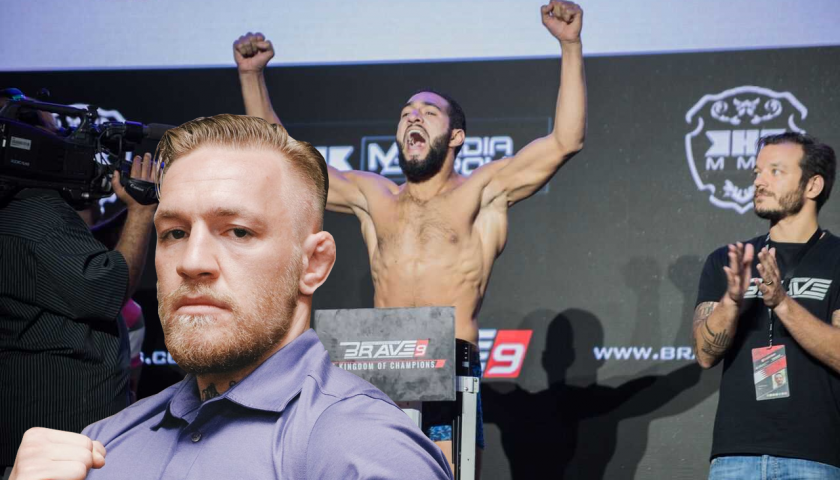 Ahmed Amir details training with Conor McGregor ahead of Brave 11