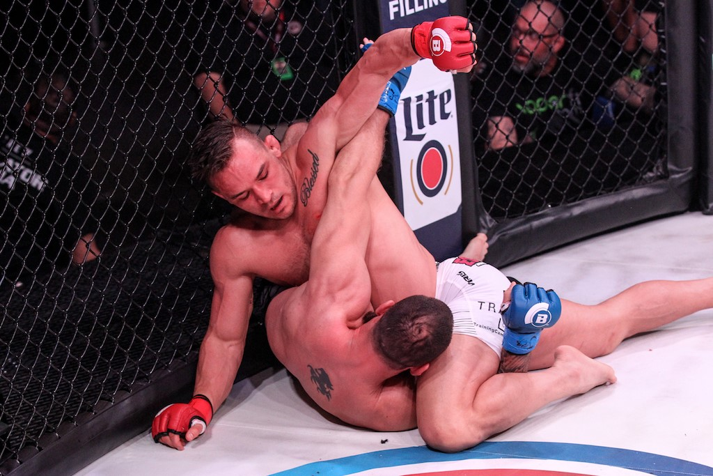 Bellator 197 results - Michael Chandler finishes Brandon Girtz in main event