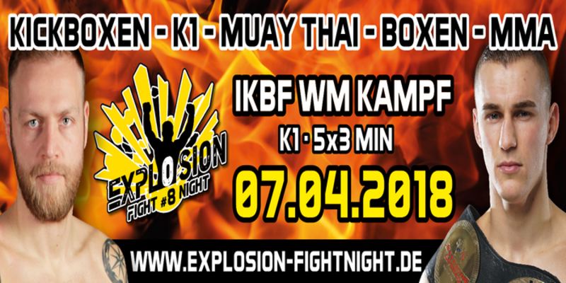 Explosion Fight Night 8 - Official PPV Live Stream