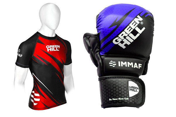 International MMA Federation approves Amateur MMA Kit by Green Hill