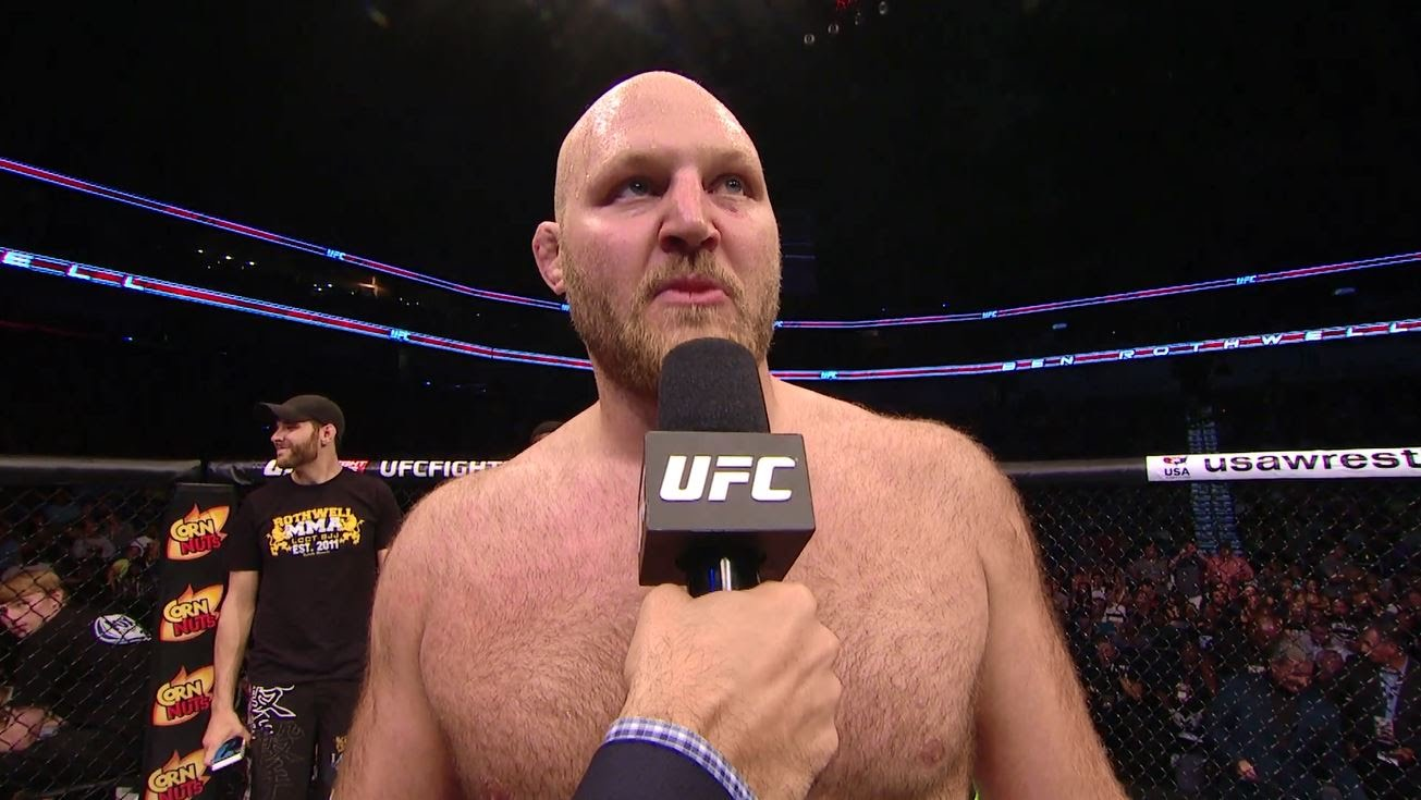 Ben Rothwell Accepts Sanction for Violation of UFC Anti-Doping Policy