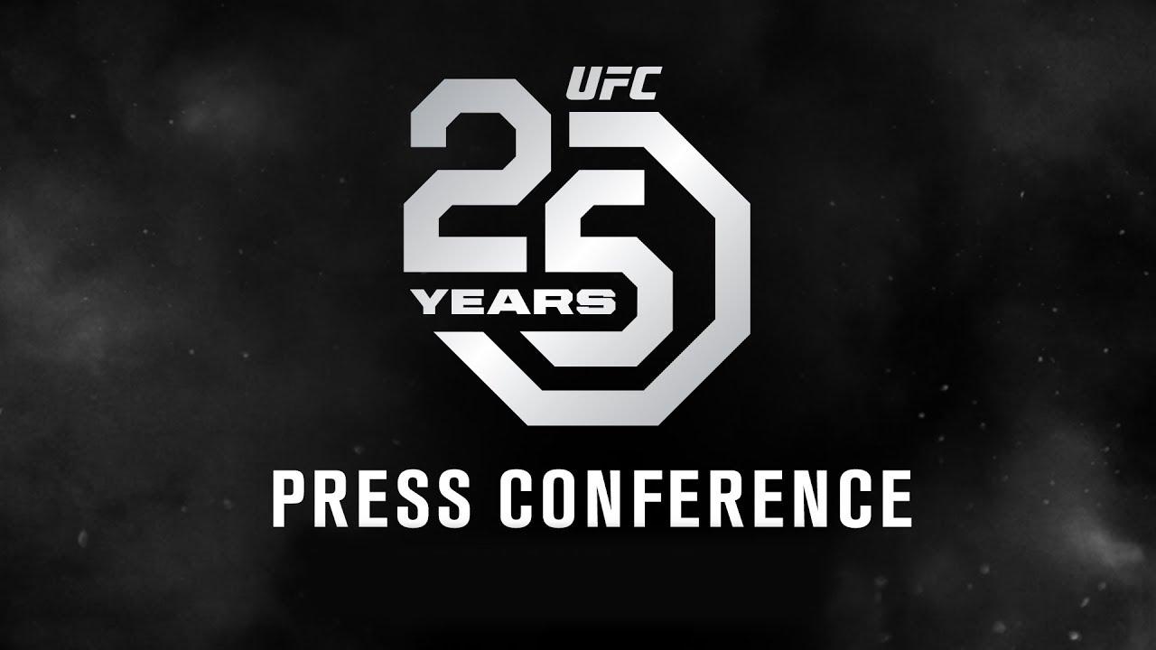 UFC 25th Anniversary Press Conference - LIVE STREAM