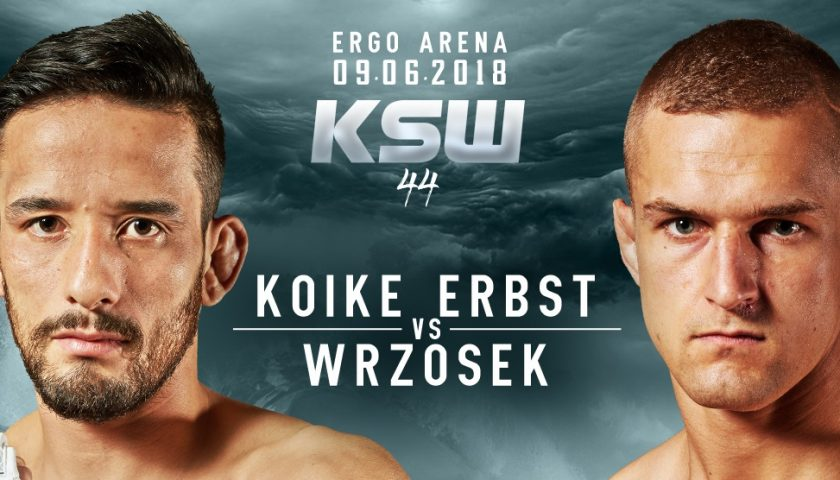 Marcin Wrzosek and Kleber Koike Erbst rematch for the title at KSW 44